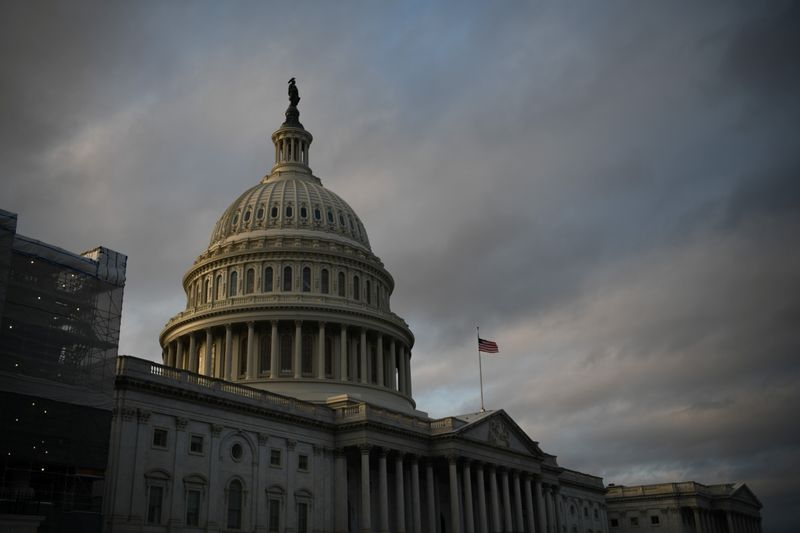 The U.S. Capitol building is pictured on Capitol Hill in Washington