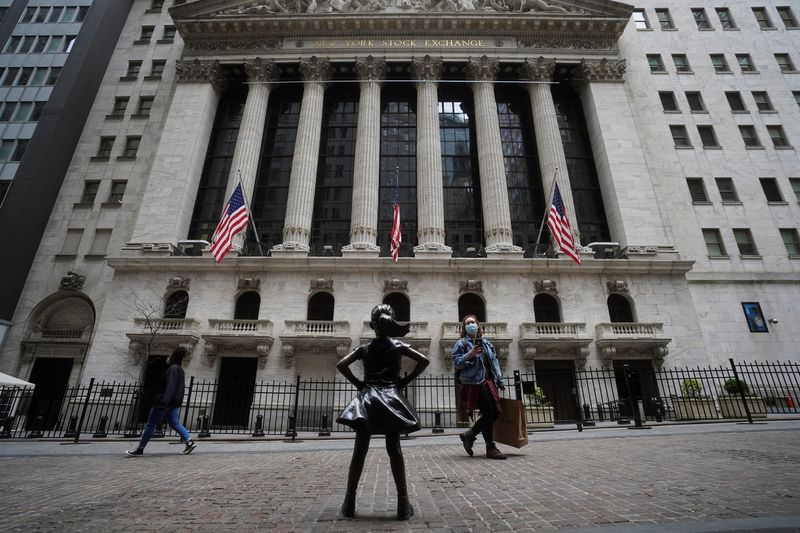 FILE PHOTO: The New York Stock Exchange is pictured in New York