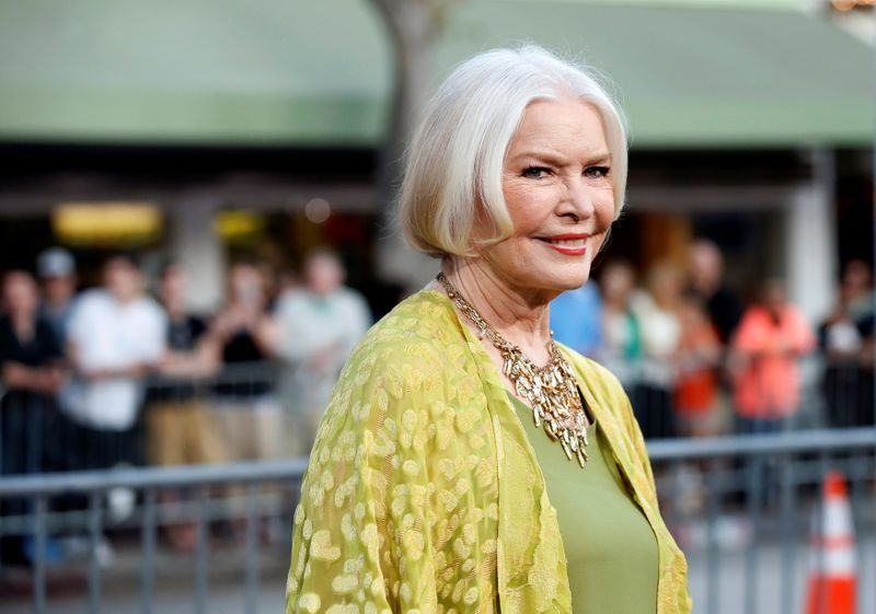 FILE PHOTO: Cast member Burstyn poses at the premiere of