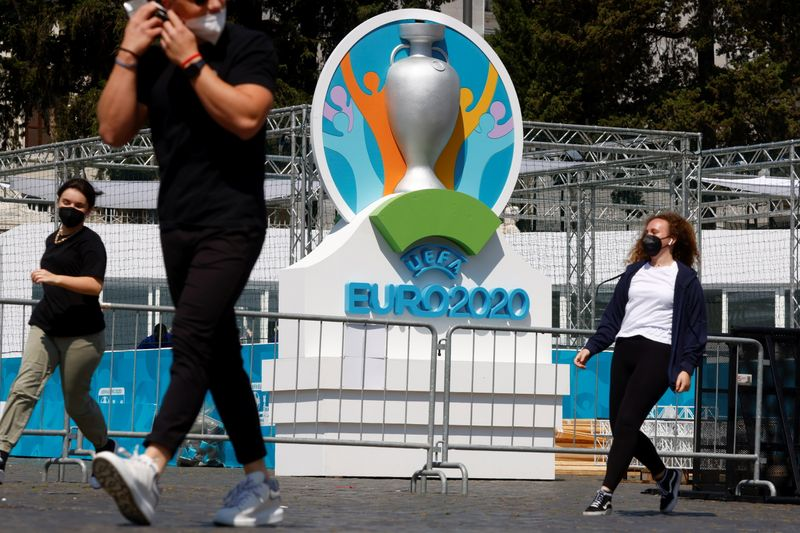 Rome gets ready to host Euro 2020 inaugural match