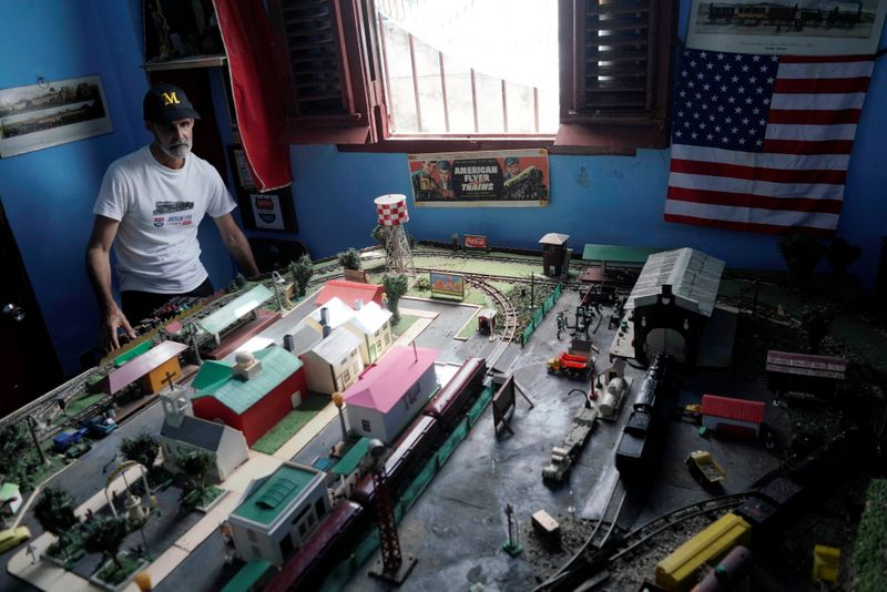 Cuban artisans display their expertise in repairing old toys and creating new ones