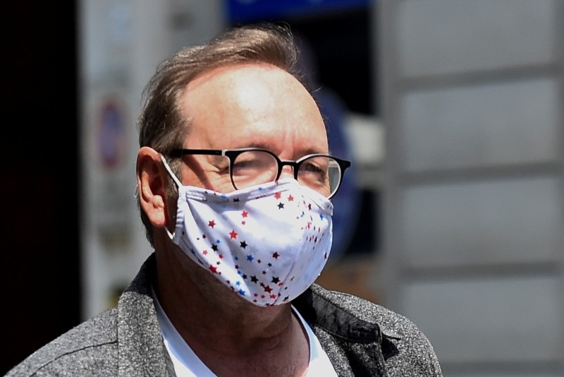 FILE PHOTO: Actor Kevin Spacey is seen in Turin