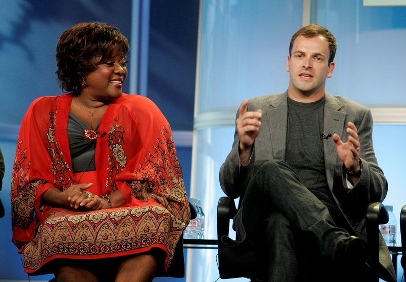 FILE PHOTO: Actors Devine and Miller at the Disney ABC Television Group summer press tour in Beverly Hills