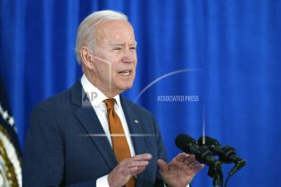 Joe Biden talks about the May jobs report from the Rehoboth Beach Convention Center in Rehoboth Beach, Del., Friday, June 4, 2021. (AP Photo/Susan Walsh)