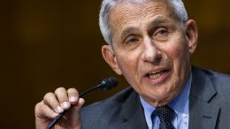 FILE - In this May 11, 2021, file photo, Dr. Anthony Fauci, director of the National Institute of Allergy and Infectious Diseases, speaks during hearing on Capitol Hill in Washington. The United States is devoting more than $3 billion to advance development of antiviral pills for COVID-19, according to an official briefed on the matter. The pills, which would be used to minimize symptoms after infection, are in development and could begin arriving by year's end, pending the completion of clinical trials. (Jim Lo Scalzo/Pool Photo via AP, File)