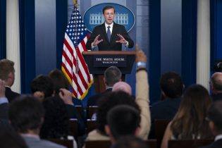 White House national security adviser Jake Sullivan speaks during a press briefing at the White House in Washington. (AP Photo/Evan Vucci)