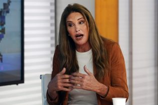 """FILE - In this May 26, 2021 file photo Caitlyn Jenner, a Republican candidate for California governor, is interviewed on the Fox News Channel's """"America's Newsroom"""" television program, in New York. Six weeks after California officials announced that Democratic Gov. Gavin Newsom would face an almost certain recall election, the contest remains framed by uncertainty, even the date when it might take place is unclear. (AP Photo/Richard Drew,File)"""