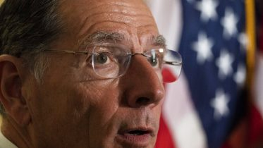 Sen. John Barrasso, R-Wyo., speaks with reporters after a Republican caucus luncheon on Capitol Hill, Tuesday, June 8, 2021, in Washington. (AP Photo/Alex Brandon)