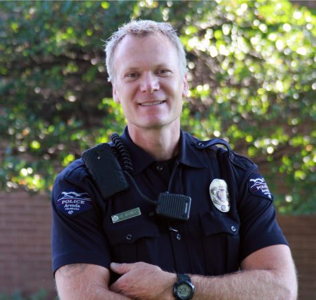 Officer Gordon Beesley. (Photo credit: Arvada Police Department)