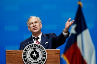 Governor Greg Abbott speaks at the National Rifle Association-Institute for Legislative Action Leadership Forum in Dallas, Friday, May 4, 2018. (AP Photo/Sue Ogrocki)