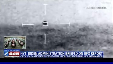 NYT: Biden administration briefed on UFO report
