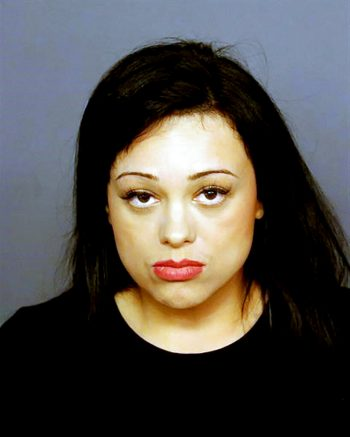 This undated booking photo provided by the Las Vegas Metropolitan Police Department shows Samantha Moreno Rodriguez, 35, of San Jose, Calif. Rodriguez was arrested Tuesday, June 8, 2021, in Colorado less than 12 hours after she was identified by Las Vegas police as the suspect in the death of her 7-year-old son, whose body was found by hikers in Nevada more than 10 days ago. (Las Vegas Metropolitan Police Department via AP)