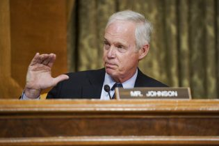 Sen. Ron Johnson, R-Wis., speaks during a Senate Budget Committee hearing to discuss President Joe Biden's budget request for FY 2022 on Tuesday, June 8, 2021, on Capitol Hill in Washington. (Greg Nash/Pool via AP)