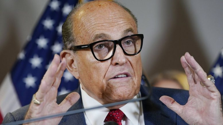 N.Y. court revokes Giuliani's law license for exposing election fraud