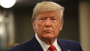 NEW YORK, NY - SEPTEMBER 24: U.S. President Donald Trump speaks to the media at the United Nations (U.N.) General Assembly on September 24, 2019 in New York City. World leaders are gathered for the 74th session of the UN amid a warning by Secretary-General Antonio Guterres in his address yesterday of the looming risk of a world splitting between the two largest economies - the U.S. and China. (Photo by Spencer Platt/Getty Images)