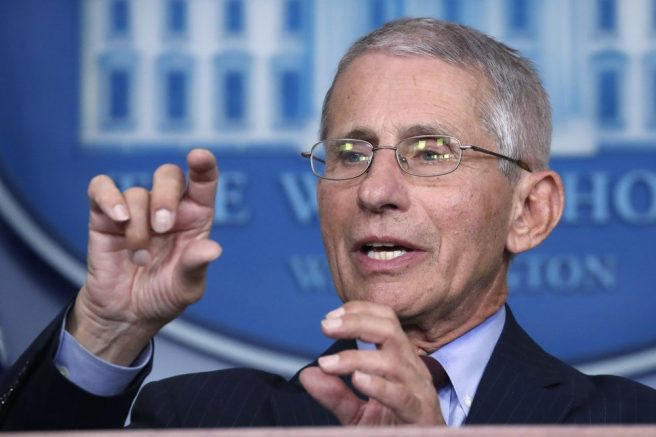 Dr. Anthony Fauci supports calls to mask up children