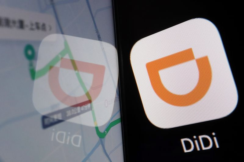 Illustration picture of Chinese ride-hailing giant Didi