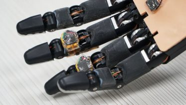 Smart foam material gives robotic hand the ability to self-repair
