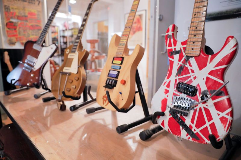 Rare and collectible music artifacts and instruments to go on sale at  Guernsey's