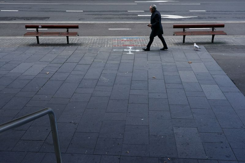 FILE PHOTO: A COVID-19 lockdown remains in place as outbreak of new cases affects Sydney