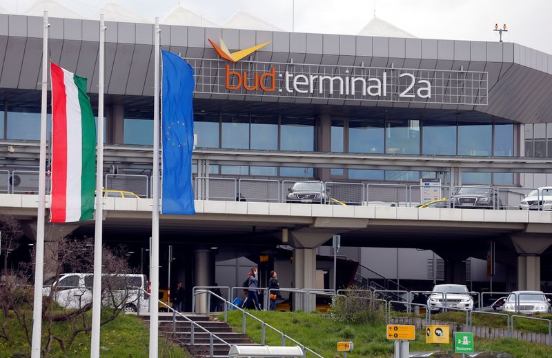 FILE PHOTO: General view of the Ferenc Liszt airport's terminal 2A in Budapest