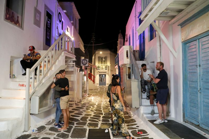 Music banned in Greece's Mykonos in new Covid-19 restrictions