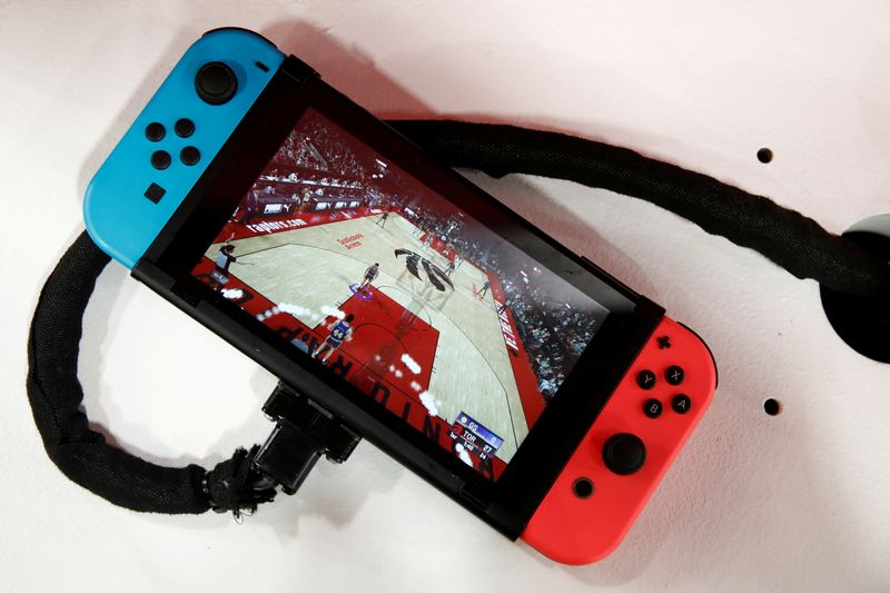 FILE PHOTO: Nintendo Switch game console