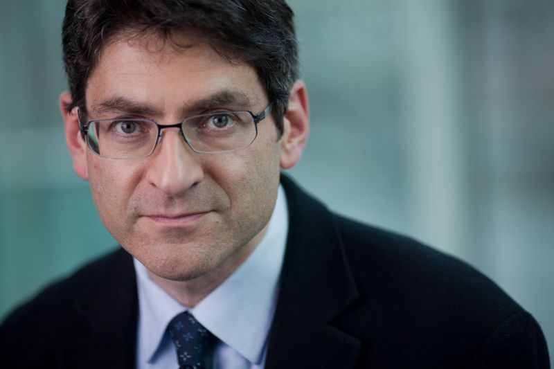 Professor Jonathan Haskel, who has just been appointed to the Monetary Policy Committee of the Bank of England, is seen in this undated portrait released by HM Treasury in London