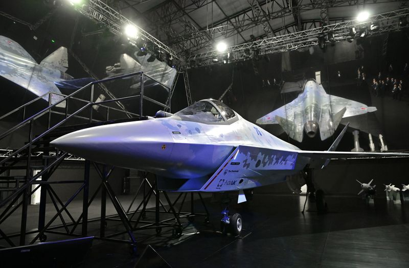 MAKS-2021 air show in Zhukovsky, outside Moscow