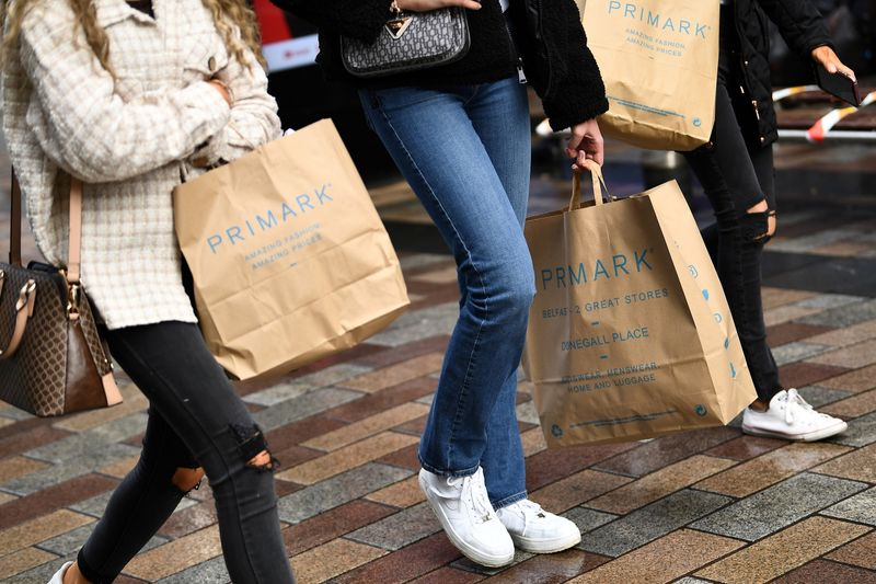 FILE PHOTO: Retail shoppers in Belfast