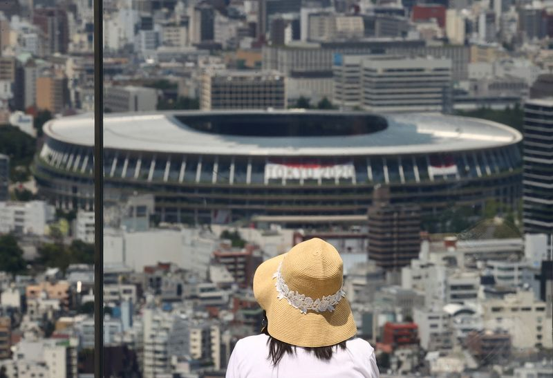 Tokyo prepares for Olympics official opening