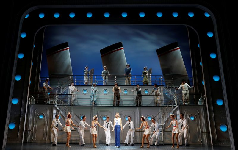 Musical 'Anything Goes' opens in London
