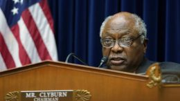 Rep. James Clyburn (D-S.C.) speaks during a hearing on Capitol Hill in Washington. (AP Photo/Susan Walsh, Pool)