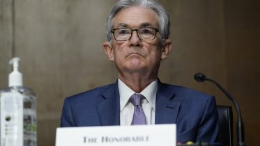 Chairman of the Federal Reserve Jerome Powell appears before the Senate Banking Committee on Capitol Hill in Washington. (AP Photo/Susan Walsh, Pool, File)