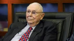 Berkshire Hathaway Vice Chairman Charlie Munger listens to a question during an interview in Omaha, Neb. (AP Photo/Nati Harnik, File)