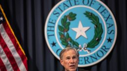 AUSTIN, TX - JULY 10: Texas Gov. Greg Abbott speaks during a border security briefing with sheriffs from border communities at the Texas State Capitol on July 10 in Austin, Texas. Border Security is among the priority items on Gov. Abbotts agenda for the 87th Legislatures special session. (Photo by Tamir Kalifa/Getty Images)