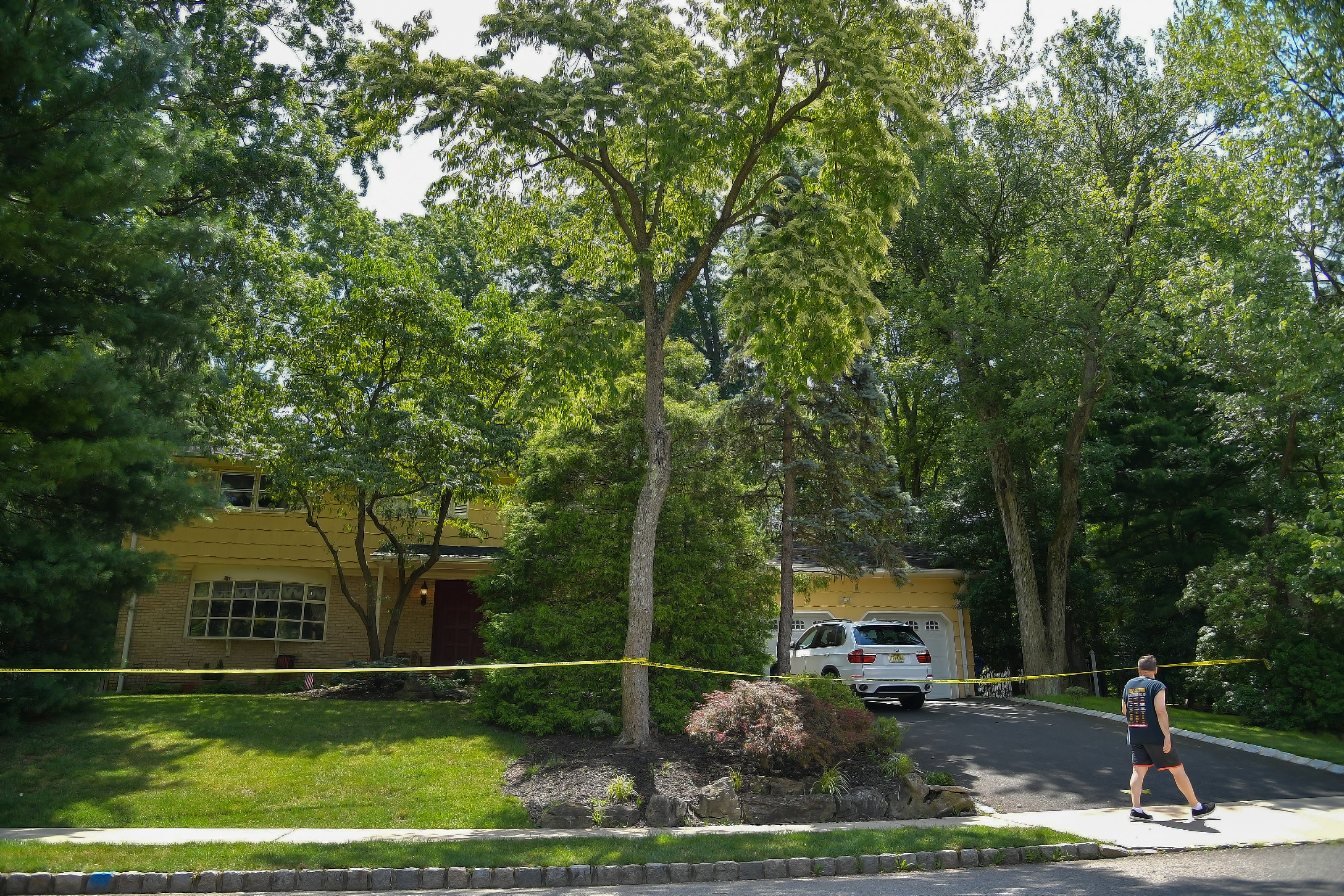 A view of the home of U.S. District Judge Esther Salas. on July 20, 2020 in North Brunswick, New Jersey. Salas' son, Daniel Anderl, was shot and killed and her husband, defense attorney Mark Anderl, was injured when a man dressed as a delivery person came to their front door and opened fire. (Photo by Michael Loccisano/Getty Images)