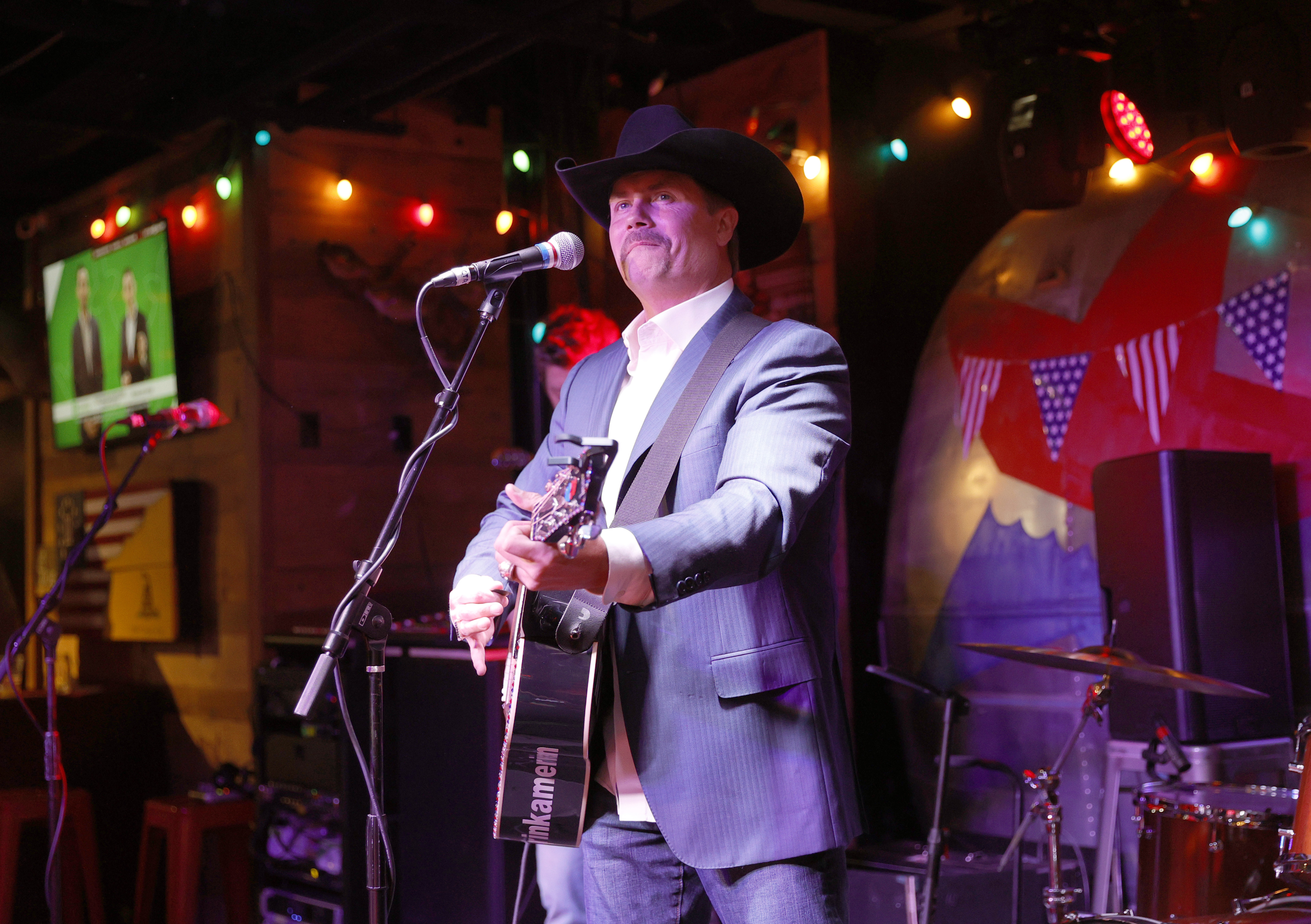Country artist John Rich performs at Redneck Riviera Nashville in Nashville, Tennessee. (Photo by Jason Kempin/Getty Images)