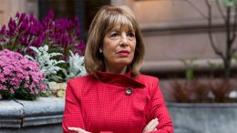 """Congresswoman Jackie Speier (D-CA) poses for a portrait in New York. Soon after the #MeToo movement began a year ago Speier spoke out. """"I wanted women in Congress to know they can come and talk to me and they would be safe and I would have their backs,"""" she said. (AP Photo/Mark Lennihan)"""