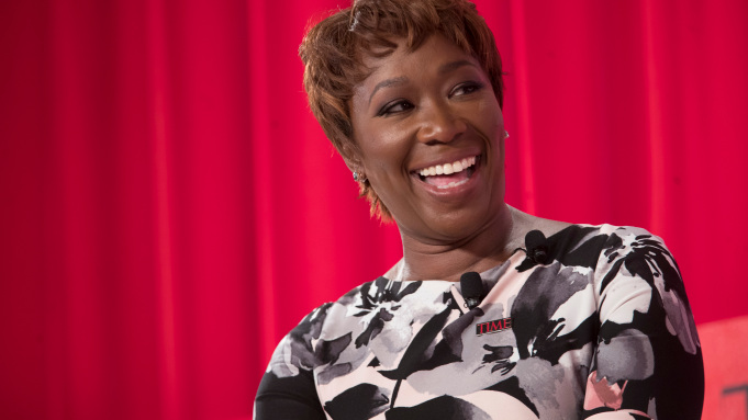 Joy Reid speaks during the during the TIME 100 Summit, Tuesday, April 23, 2019, in New York. (AP Photo/Mary Altaffer)