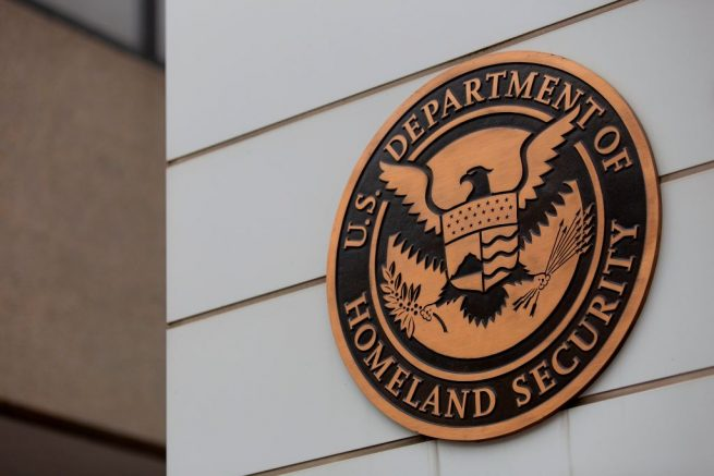 The US Department of Homeland Security building building is seen in Washington, DC, on July 22, 2019. (Photo by Alastair Pike / AFP) (Photo by ALASTAIR PIKE/AFP via Getty Images)