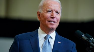 Joe Biden delivers remarks on infrastructure spending at McHenry County College, Wednesday, July 7, 2021, in Crystal Lake, Ill. (AP Photo/Evan Vucci)