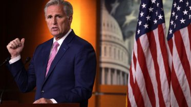WASHINGTON, DC - MAY 28: U.S. House Minority Leader Rep. Kevin McCarthy (R-CA) speaks during a weekly news conference May 28, 2020 on Capitol Hill in Washington, DC. McCarthy held news conference to fill questions from members of the press. (Photo by Alex Wong/Getty Images)