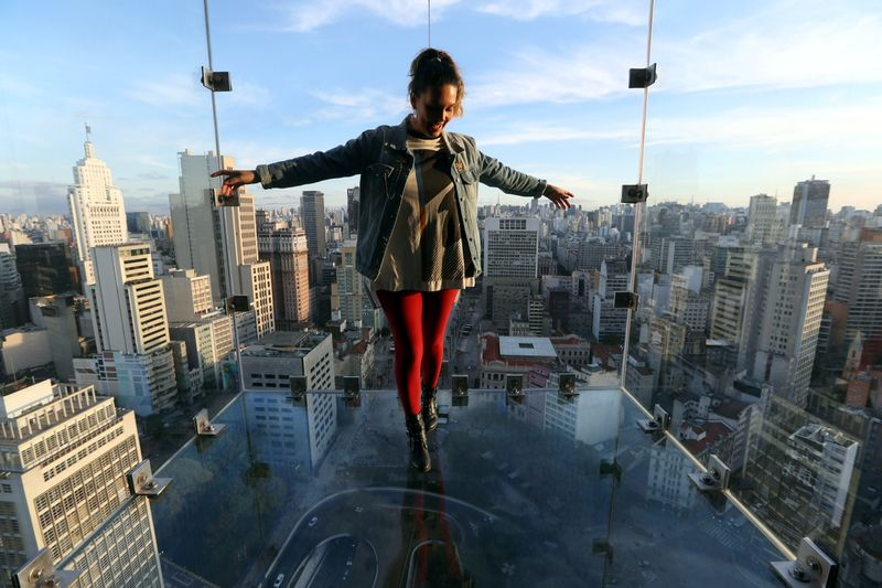 New viewpoint in Sao Paulo downtown