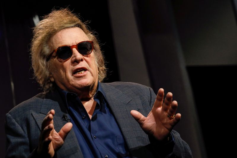 FILE PHOTO: Singer Don McLean speaks during an interview in New York