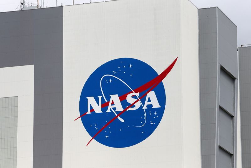 Astronauts arrive before launch to the International Space Station, in Cape Canaveral