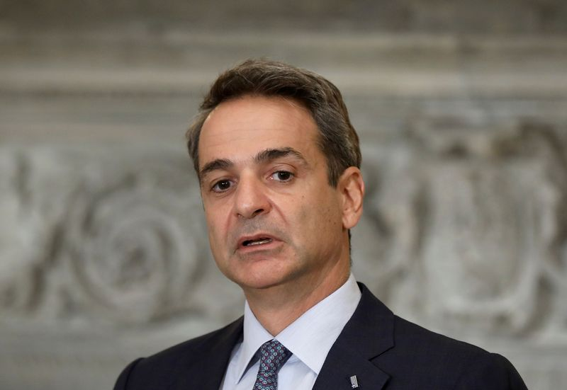 EU Council President Michel meets with Greek PM Mitsotakis in Athens