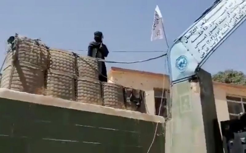 Taliban fighters claim taking control of local police headquarters in Ghazni