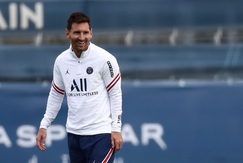 Paris St Germain Training and Press Conference
