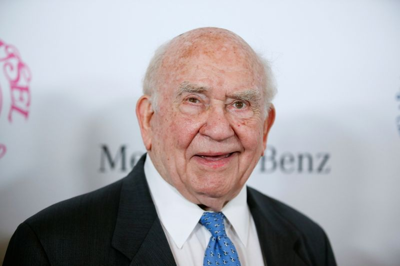 FILE PHOTO: Actor Ed Asner poses at The Mercedes-Benz Carousel of Hope Ball to benefit the Barbara Davis Center for Diabetes in Beverly Hills, California